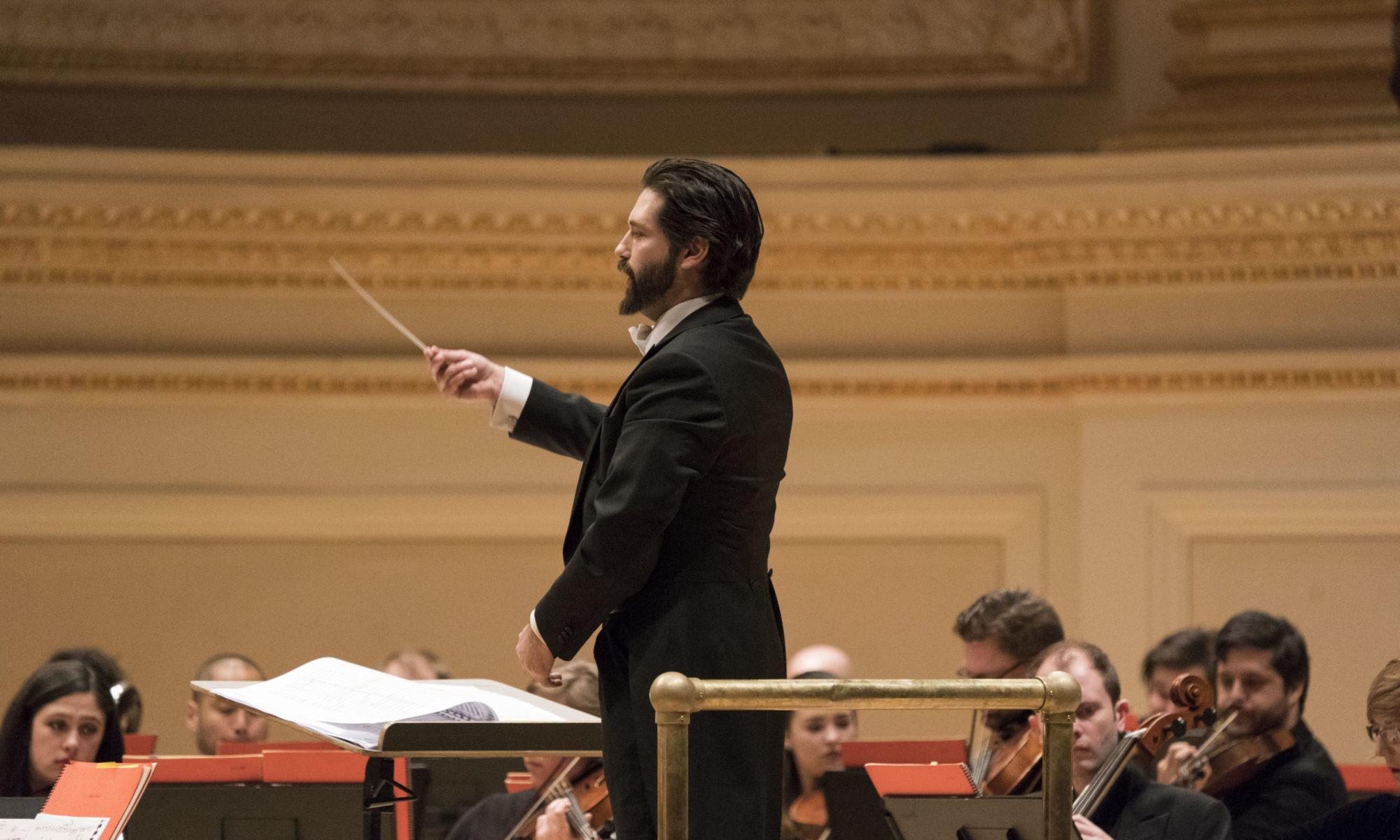 Alessandro Calcagnile, conductor